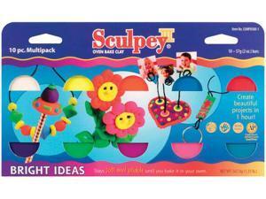 Alvin S3MP05001 Sculpey Multipack Brights 10pc