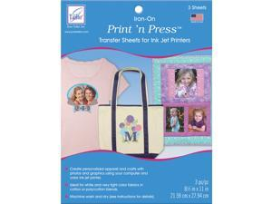 June Tailor JT908 Print 'n Press Iron-On Transfer Paper