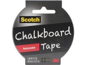 "Scotch Chalkboard Tape 1.88""X5yd-Black"