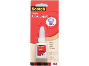 Scotch Super Glue Liquid .18oz AD110 Pack Of 12