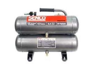 SENCO PC1131 2.5 HP 4.3 Gallon Oil-Lube Twin Stack Air Compressor