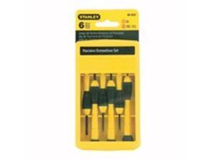 Stanley Tools 6-Piece Precision Screwdriver Set