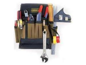 10Pkt Electricians Tool Pouch CUSTOM LEATHERCRAFT Tool Pouches 1505 084298015052