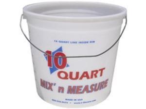 ENCORE PLASTICS 301759 Paint Pail,10 qt,Hi Density Polyethylene