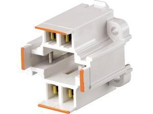 Lampholder For G24Q And Gx24Q Lamp Bases 4-Pin LEVITON MFG Misc Lamp Parts