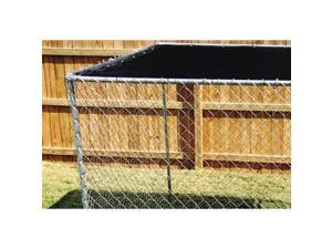STEPHENS PIPE & STEEL LLC Modular Sunblock Top for 10 x 10-Ft. Dog Kennel  DKTB11010 - TOP ONLY