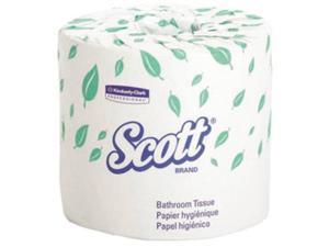 1 Case of Scott 2Ply White Toilet Paper Embossed (80 - 550ct rolls per Case)