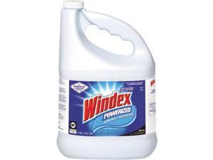 WINDEX 696503 Liquid Glass and Surface Cleaner, 1 gal., Blue, Unscented, Bottle