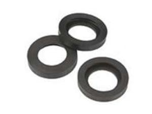 Brass Quick Connect Seal GILMOUR MFG Hose Repair and Parts 09QSR-BAG Black
