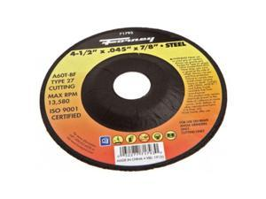 A60T-BF Metal Type 1 Forney 71797 Cut-Off Wheel with 7//8-Inch Arbor 6-Inch-by