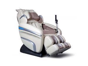 Osaki OS7200H Executive Zero Gravity Strack Heating Massage Chair Cream Recliner