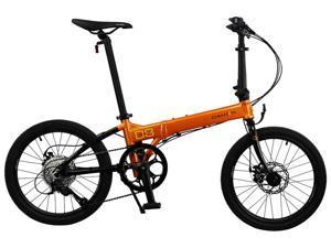 "Dahon Launch D8 20"" Tangerine/Black Folding Bike Bicycle"
