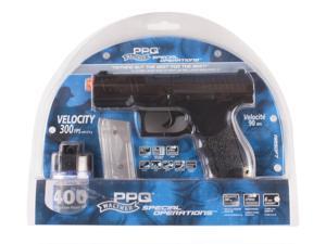 Umarex 2272540 Air Soft Pistol Walther PPQ 6 mm 15 Round/Black