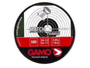Gamo Pellets Match (Flat Nose) .177 Cal. Tins of 500
