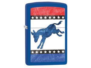 Zippo Democrats Royal Matte Windproof Pocket Lighter 29166