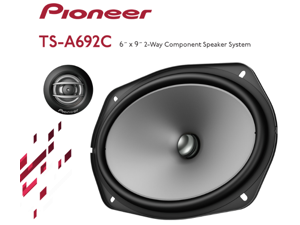 """Pioneer TS-A692C 6"""" x 9"""" 2-Way Coaxial Speaker System"""