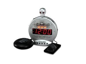 """The Skull"" MP3/i-Pod Alarm w/Shaker"