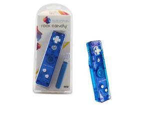 Wii - Controller -  Rock Candy - Blue (PDP)