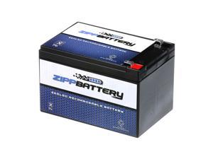 12V 12AH 144W Sealed Lead Acid (SLA) Battery - T2 Terminals by Zipp Battery
