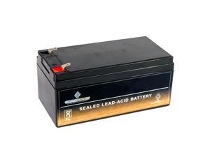 12V 3.2AH Sealed Lead Acid (SLA) Battery for BP3-12 ES3-12 PS-1230 PW1203