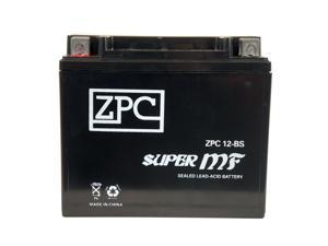 Ytx12-Bs Motorcycle Battery For Suzuki 800Cc Vz800 Marauder 2000