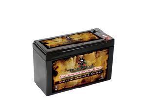 12V 7.5AH Sealed Lead Acid (SLA) Battery - T1 Terminals - for PB-12-7.5
