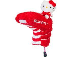 Hello Kitty Golf Blade Putter Headcover - Red/ White