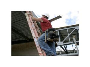 WERNER D6224-2 24 ft Fiberglass Extension Ladder, 300 lb Load Capacity