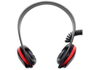 Frisby FHP-300 Neckband Headphone with Inline Microphone & Volume Control for PC Computer Smartphone Tablet MP3 Player