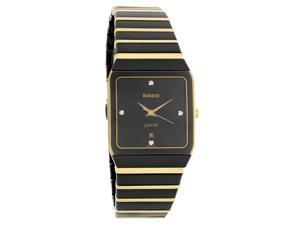Rado Anatom Jubile 18k Mens Diamond Swiss Quartz Watch R10398761