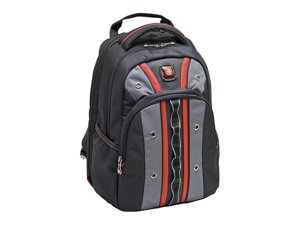 """Wenger SwissGear VALVE 16"""" Laptop Notebook Computer & iPad Ready Backpack - Red"""