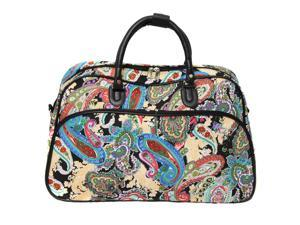 All-Seasons 21-inch Carry-On Shoulder Tote Duffel Bag - Paisley f9e8d4ad14588