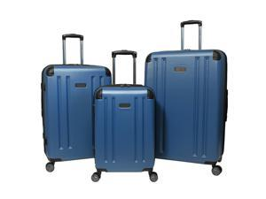 Kenneth Cole Reaction Hardside 3-Piece Expandable Spinner Luggage Set - Blue