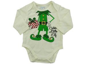 08886bfc12f Childrens Place Infant Boy White Snap Bottom Christmas ...