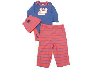 cf1bccd2c03 Gerber Infant Boys Blue Red Bear Outfit With Creeper ...