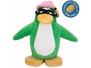Disney Club Penguin Aunt Artic Stuffed Animal Series 3 Collectible Figure