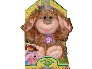 Cabbage Patch Kids Puppy: Curly Golden Brown Dog Soft Cuddly Pal