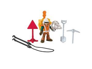 Fisher-Price Imaginext Rescue City Construction Worker