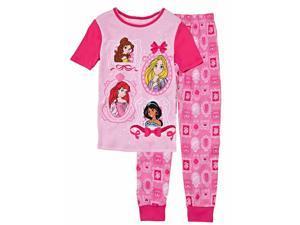 a4d625b295 Disney Toddler Girls 2 PC Princess Top Bottoms ...