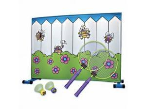 Buzzy Badminton Tennis Fly Swattin Game In or Out