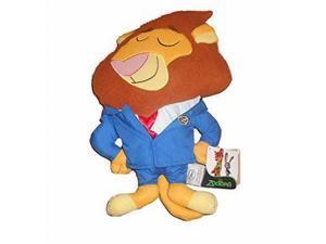 Disney Zootopia Mayor Leodore Lionheart 14 inch Pillow Plush Stuffed Animal
