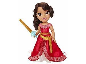 Elena of Avalor Action Adventure Doll With Sword, 14 inch Toddler Doll