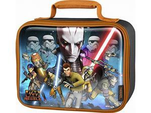 Thermos Soft Lunch Kit, Star Wars Rebels Insulated Lunch Box Kids Lunchbox