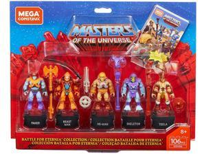 Mega Construx Masters of the Universe Battle of Eternia Hero Figure Building Set