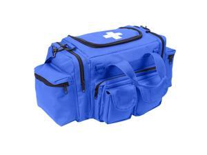 Rothco EMT Medical Trauma Kit, EMT Bag w/Over 200 First Aid Supplies, Blue