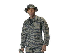 Tiger Stripe Camo BDU shirts, military uniform shirts, 3XL