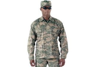 ACU Digital Camo BDU shirts, military uniform shirts, Large