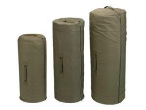 "Olive Drab Side Zipper Canvas Duffle Bags - Giant (30"" x 50"")"