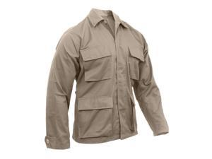 Khaki BDU shirts, military uniform shirts, Large