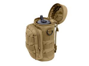 Rothco Water Bottle Survival Kit With MOLLE Compatible Pouch, Coyote Brown